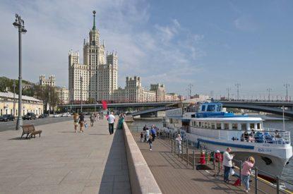 Речная прогулка от парка «Зарядье» до Москва-Сити