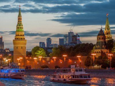 Открытие 87-й пассажирской навигации в Москве 2020